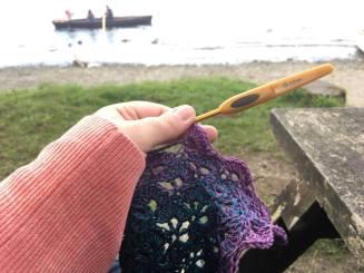 Crochet at Brockhole