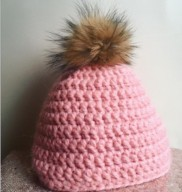 beanie hat finished