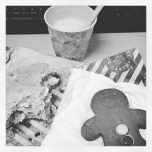 Lunch bw