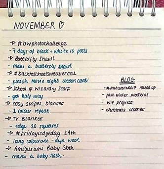 November List