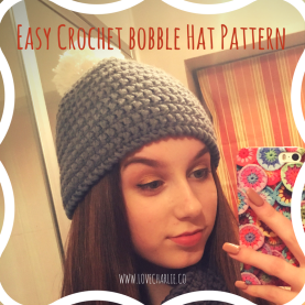 Easy Crchet bobble Hat Pattern (2)