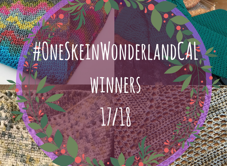 #OneSkeinWonderlandCAL – Winners…